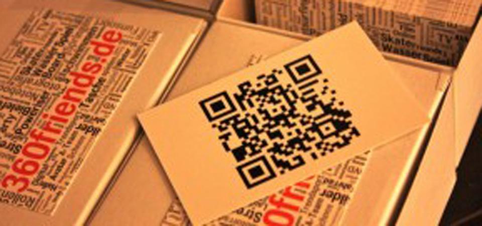 QR-Code Visitenkarte